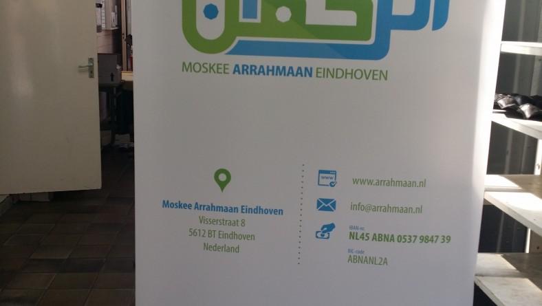 Nieuw promotiemateriaal voor de moskee