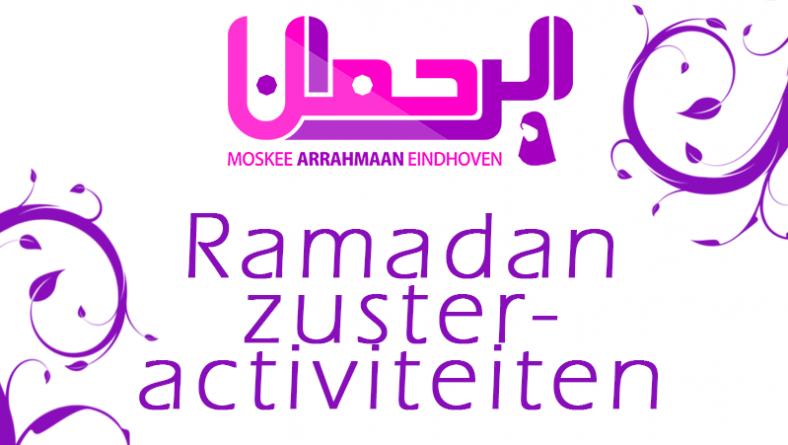 Ramadan zusteractiviteiten