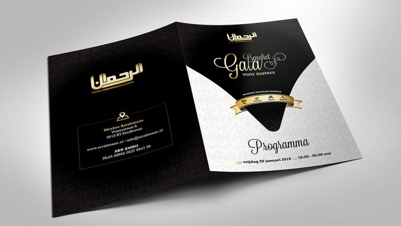 De eerste editie van het Benefietgala moskee Arrahmaan