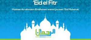zondag 25 juni eid al fitr moskee arrahmaan eindhoven