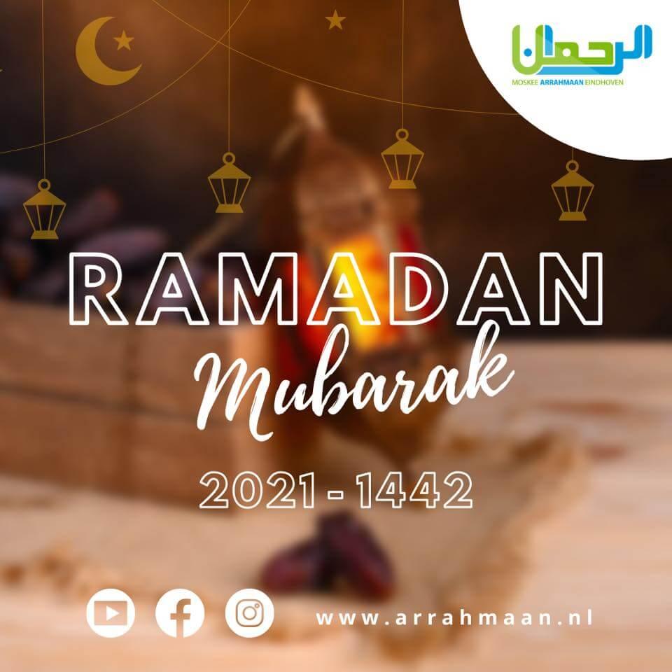 ramadan 2021 moskee eindhoven arrahmaan